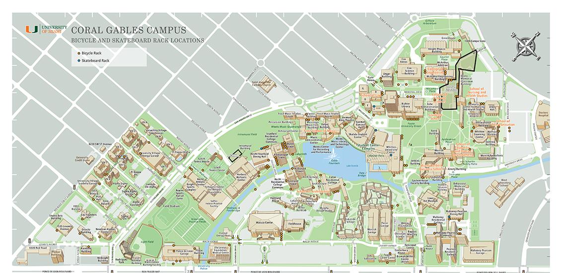 bike rack map   parking and transportation   real estate