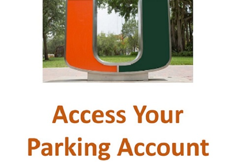 access parking account