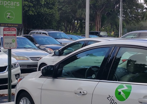 Zipcar Parking And Transportation Real Estate And Facilities